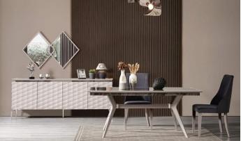 inegöl mobilyasısı Polo Yemek Odası Takımı