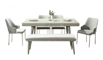 inegöl mobilyasısı Prizma Yemek Odası Takımı