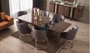 inegöl mobilyasısı Prada Yemek Odası Takımı