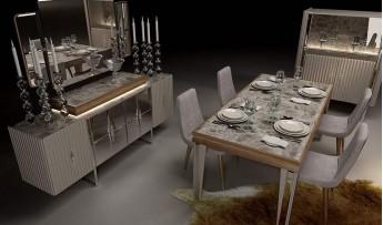 inegöl mobilyasısı Riyad Yemek Odası Takımı