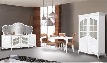 inegöl mobilyasısı Şah Yemek Odası Takımı