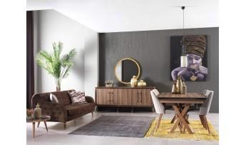 inegöl mobilyasısı Toprak Yemek Odası Takımı