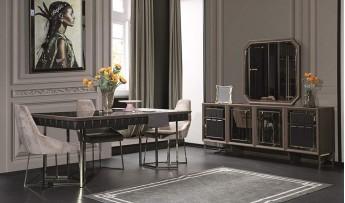 inegöl mobilyasısı Uludağ Yemek Odası Takımı
